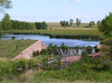 Blue Mounds State Park dam