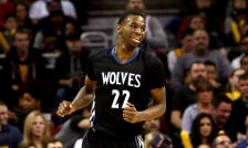 Timberwolves rookie Andrew Wiggins considered the front-runner to win NBA Rookie of the Year at season's midpoint.