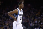 NBA rookie of the month Andrew Wiggins scores 20, but Wolves fall to Nuggets.
