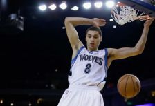 A report indicates Timberwolves rookie Zach LaVine has committed to participating in this year's NBA Slam Dunk contest.