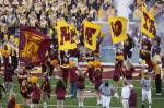 Gopher cheerleaders