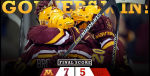 Gophers-Badgers (Gopher Hockey Twitter) Embedded 2015-01-30 at 10.56.04 PM