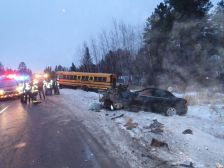 Hibbing school bus crash