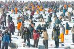 Ice fishing Brainerd