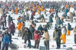 Ice fishing Brainerd