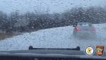 Police dash cam blizzard Minnesota