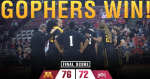 Gophers-Ohio State women's basketball
