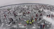Ice fishing Brainerd Jaycees