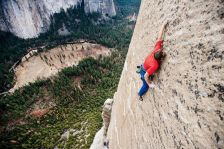 Tommy Caldwell on Dawn Wall