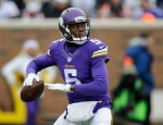 Vikings quarterback Teddy Bridgewater was named the NFC North's Rookiie of the Year.