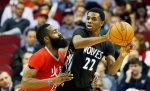 James Harden posted a triple double to lead Rockets over Andrew Wiggins and the Wolves.