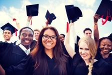 istock ok to reuse Graduates at graduation