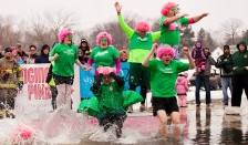plunging for pink 2015