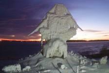 superior ice sculpture mid takedown