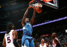 Concussion-like symptoms cause Wolves center Gorgui Dieng to miss career's first game.