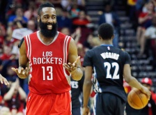 Red hot Rockets overwhelm Wiggins and the Wolves.