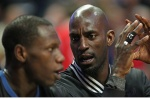 Wolves forward Kevin Garnett will throw out the first pitch for Twins home opener.