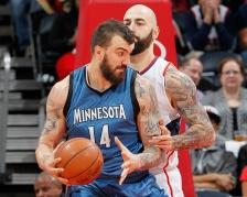 Wolves shut down center Nikola Pekovic for the remainder of the season.