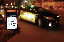 GETTY EDITORIAL DO NOT REUSE SPAIN-US-TAXI-JUSTICE-UBER