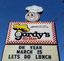 gordys hi-hat sign march 25, 2015
