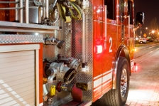 ISTOCK OK TO REUSE iStock_fire-truck-night-blaze
