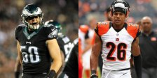 The VIkings sign free agents Casey Matthews, Taylor Mays to help defense.