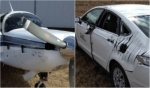 plane car collision resize