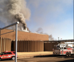 Fire at wastewater treatment plant, St. Paul