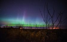 Aurora borealis Minnesota