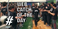 web catch basketball team fans overlay