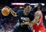 Wolves send Andrew Wiggins socks to NBA postseason award voters.