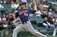 The Twins have sent lefty Brian Duensing to the 15 day disabled list, recalled Caleb Thielbar from Triple-A Rochester.