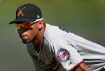 Byron Buxton shows off blazing speed at Twins Double-A affiliate Chattanooga.