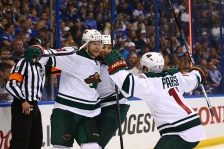 The Minnesota Wild have taken a 3-2 series lead over St. Louis with a 4-1 victory on Friday night in St. Louis.