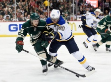 GETTY EDITORIAL DO NOT REUSE t Louis Blues v Minnesota Wild - Game Three