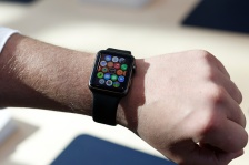 GETTY EDITORIAL DO NOT REUSE Apple Previews Its New Watch, As Company Begins To Take Pre-Orders