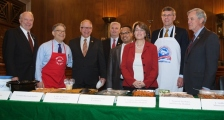 Minnesota's congressional delegation at the annual Hotdish cook off, April 22, 2015.