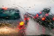 iStock OK TO REUSE _rain-car-driving-commute-gray