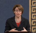 Klobuchar on Senate floor