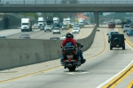 Motorcycle freeway