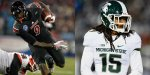 Louisville wide receiver DeVante Parker and Michigan State cornerback Trae Waynes are two players thought to be options for the Vikings at pick number 11 in this year's NFL Draft.
