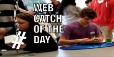 Rubik's Cube Web Catch