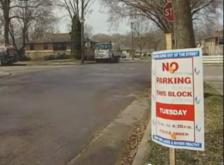 no parking street sign minneapolis