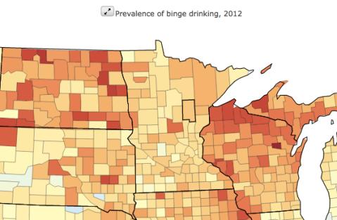 Binge drinking USA