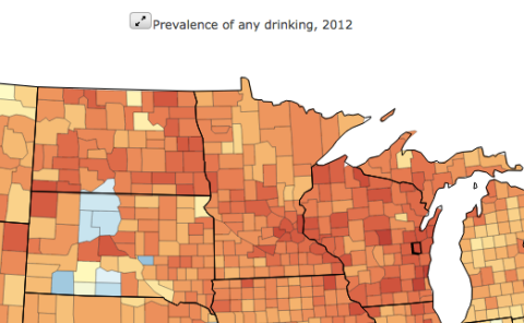 Drinking levels USA Minnesota