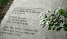 st paul sidewalk poetry