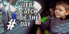 Batkid Web Catch 05 21 2015