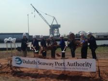 Duluth Port Authority groundbreaking