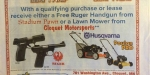cloquet dealership free gun or lawnmower ad