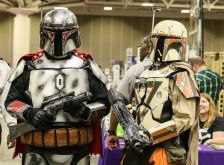 Attendees at the Wizard World Comic Con in Minneapolis May 2, 2015.